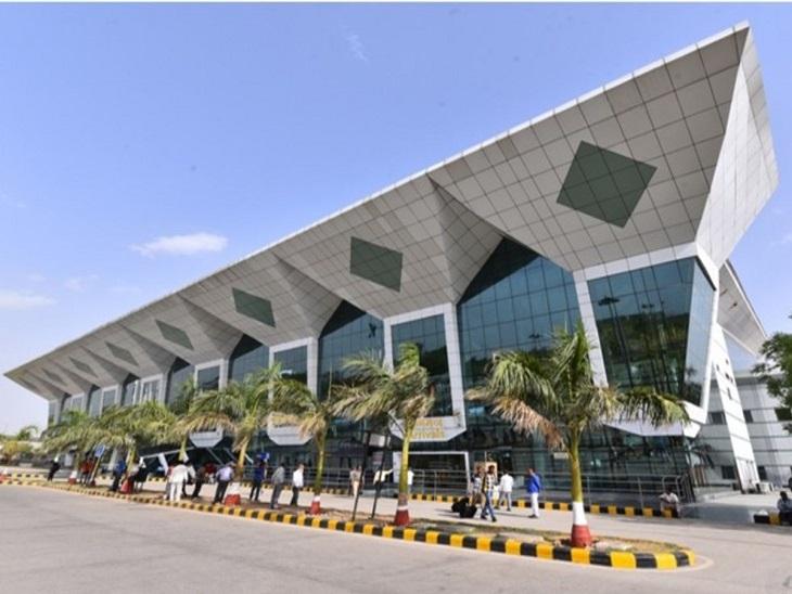 उदयपुर एयरपोर्ट। - Dainik Bhaskar