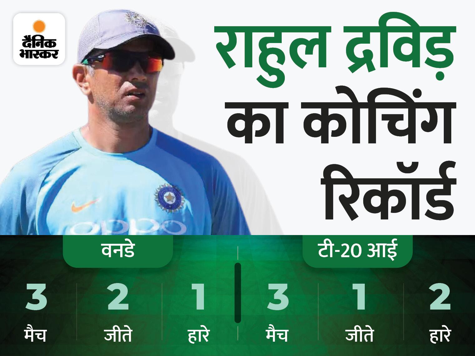 राहुल द्रविड़ टी20 वर्ल्ड कप के बाद से 2023 के वर्ल्ड कप तक रहेंगे कोच|स्पोर्ट्स,Sports - Dainik Bhaskar