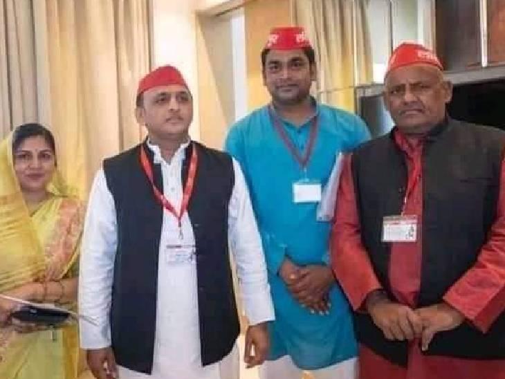 अखिलेश यादव के निर्देश पर जिलाध्यक्ष पद से हटाए गए तिलक यादव, जिले की कार्यकारिणी भंग|ललितपुर,Lalitpur - Dainik Bhaskar
