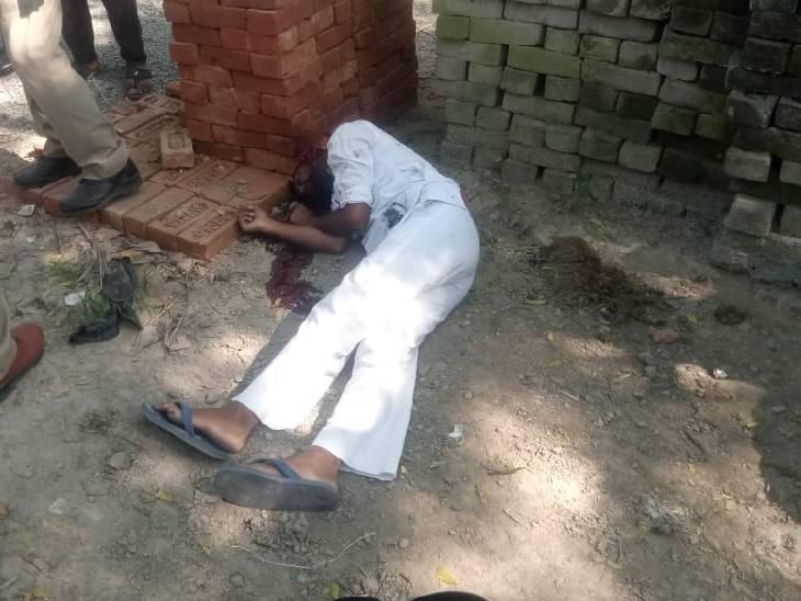 बोलेरो सवार बदमाशों ने दिनदहाड़े 3 गोली मारी, रिश्तेदार ने भागकर बचाई जान सीतापुर,Sitapur - Dainik Bhaskar