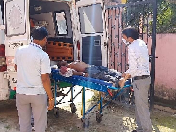 रेलवे ट्रैक पर मेंटेनेंस का काम कर रहे कर्मचारी को ट्रेन ने मारी टक्कर, इलाज के दौरान मौत|पीलीभीत,Pilibheet - Dainik Bhaskar