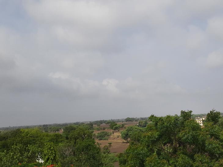 रतलाम में देर रात से शुरू हुआ रिमझिम बारिश का दौर ,आज भी बारिश के आसार|रतलाम,Ratlam - Dainik Bhaskar
