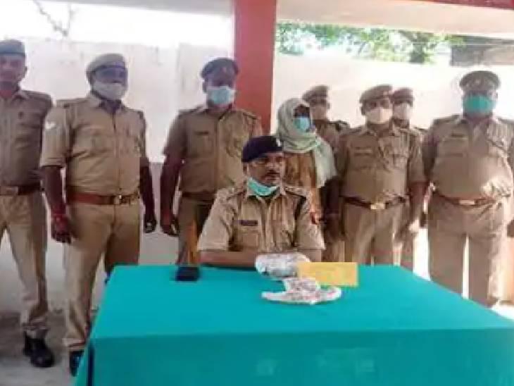 11 महीने पहले पुलिस कस्टडी से फरार हो गया था आरोपी, पुलिस ने चरस के साथ किया गिरफ्तार|महराजगंज,Maharajganj - Dainik Bhaskar