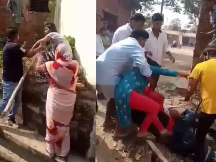 बेटे-बहू पर संपत्ति हड़पने का आरोप, पीड़ित मां बाप ने थाने में दी तहरीर|सोनभद्र,Sonbhadra - Dainik Bhaskar