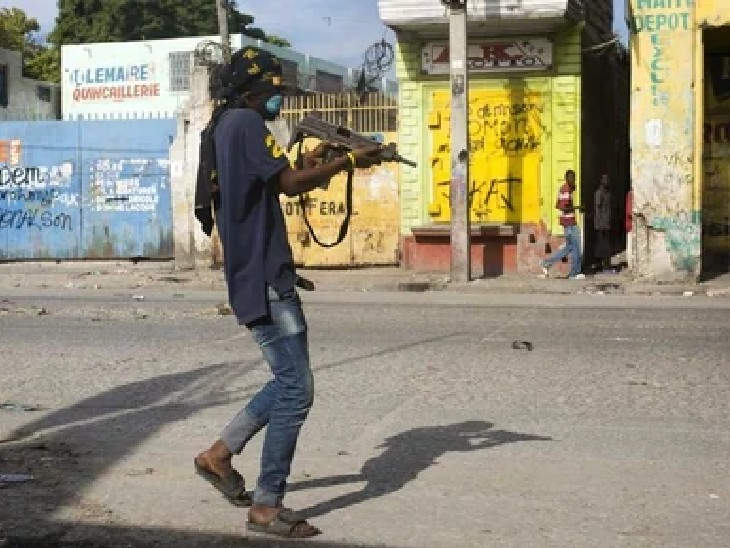 बंदूकधारियों ने एयरपोर्ट जा रहे मिशनरियों की बस रोकी, बच्चों समेत परिवारवालों का अपहरण किया विदेश,International - Dainik Bhaskar