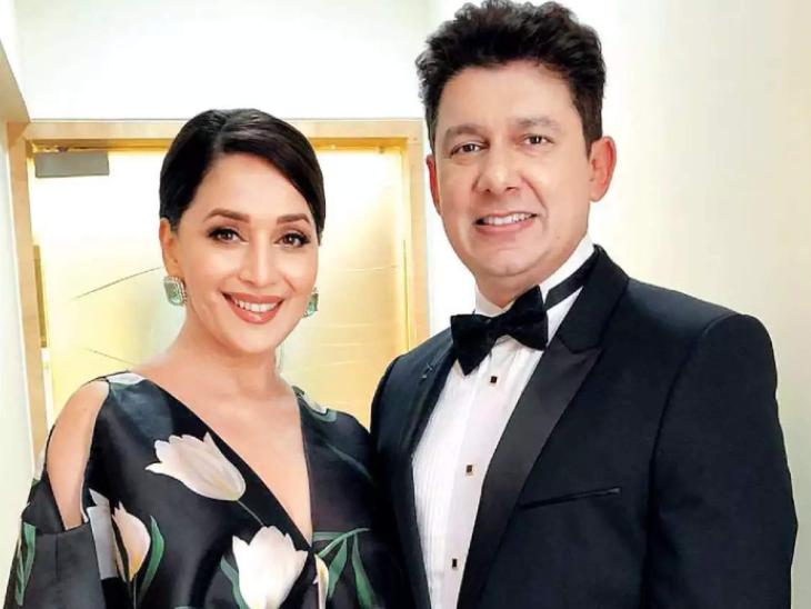 माधुरी दीक्षित ने स्पेशल वीडियो शेयर कर पति श्री राम नेने को दी सालगिरह की बधाई, बोलीं-आपके साथ 22 साल का जादुई सफर|बॉलीवुड,Bollywood - Dainik Bhaskar