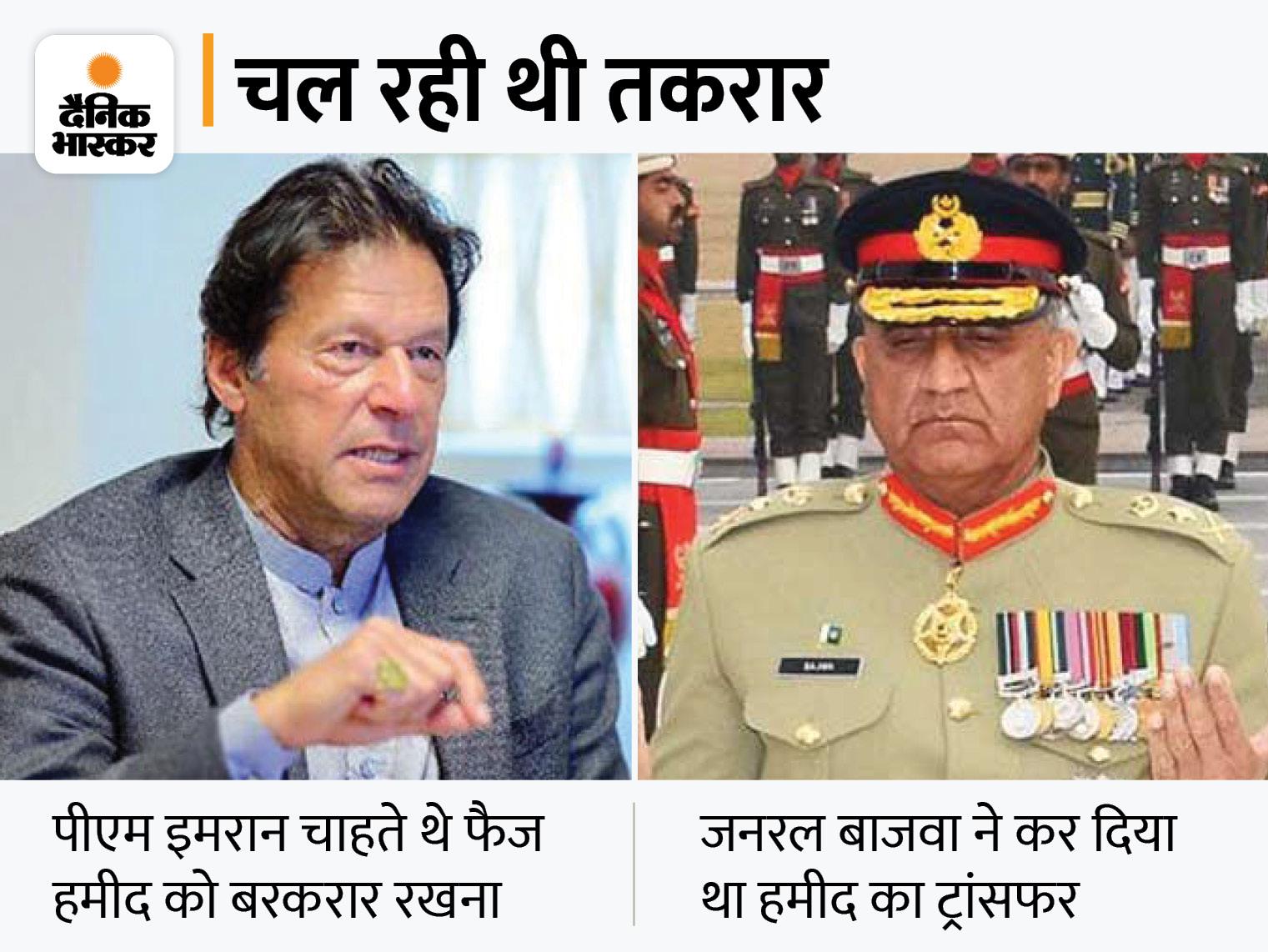 पाकिस्तानी सेना के आगे झुके इमरान खान, दी ISI के नए चीफ को मंजूरी विदेश,International - Dainik Bhaskar