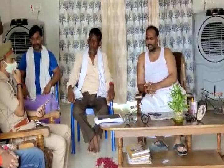 रेल रोको आंदोलन में किसानों के समर्थन का किया था एलान, राष्ट्रीय सचिव ने कहा- भाजपा सरकार को अब उखाड़ फेंकने की जरूरत है|चंदौली,Chandauli - Dainik Bhaskar