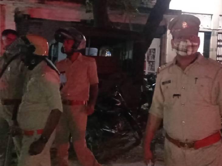 मुठभेड़ में गोली लगने से हो गया था घायल, इलाज के दौरान मौत; एटीएम चोरी का था आरोप|प्रतापगढ़,Pratapgarh - Dainik Bhaskar