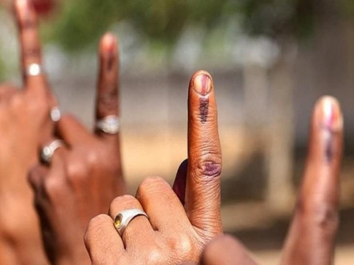 6 श्रीमान और 5 श्रीमतियों का एलान... हम नहीं हमारे जीवन साथी लड़ेंगे जिला परिषद का चुनाव|धनबाद,Dhanbad - Dainik Bhaskar