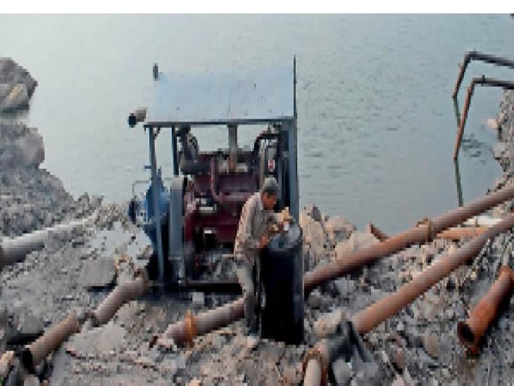 झारखंड में 20 तक बारिश का अलर्ट, खदानाें में भरा पानी ताे फिर काेयला उत्पादन घटेगा|धनबाद,Dhanbad - Dainik Bhaskar