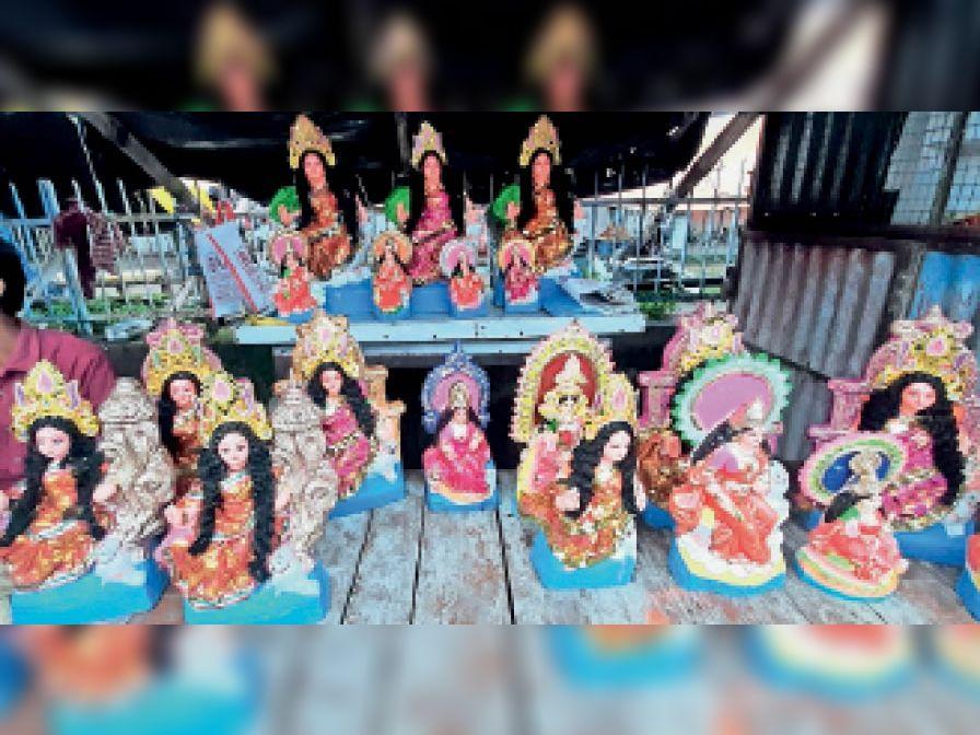 लक्खी पूजा व शरद पूर्णिमा कल, तैयारी शुरू|मिहिजाम,Mihijam - Dainik Bhaskar