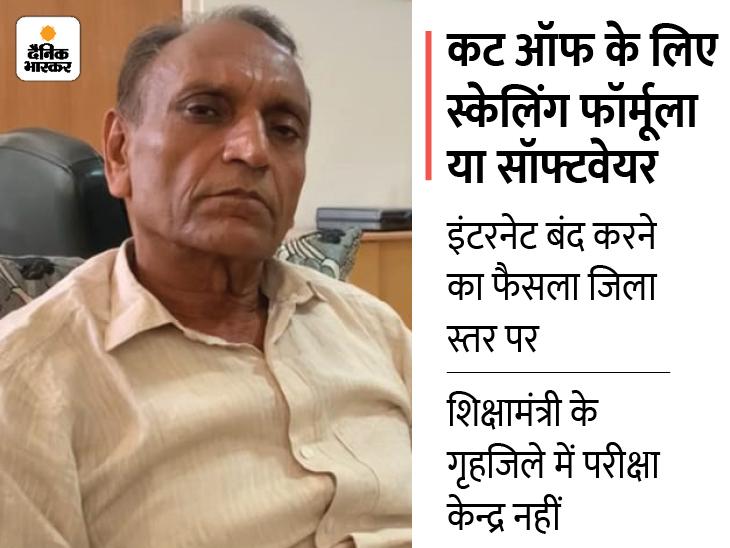 बोर्ड अध्यक्ष बोले- इसके पीछे केवल नकल गिरोह नहीं कई अन्य कारण, कटऑफ फॉर्मूले पर फैसला रिजल्ट के बाद पटवारी भर्ती परीक्षा,RSMSSB Patwari Exam 2021 - Dainik Bhaskar