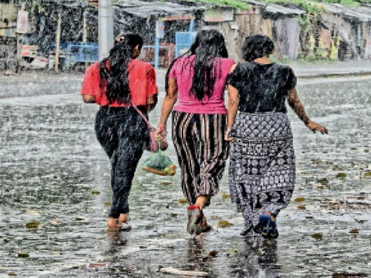 बंगाल की खाड़ी के लाे प्रेशर ने कराई 31 मिमी बारिश अाज भी बरसेंगी फुहारें, मध्यप्रदेश पहुंचा निम्न दाब|धनबाद,Dhanbad - Dainik Bhaskar