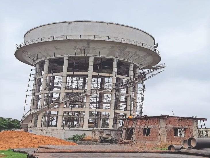 19 में तीन जलमीनार तैयार, 21700 घरों को कनेक्शन, ट्रायल भी पूरा, पर चालू एक भी नहीं|भागलपुर,Bhagalpur - Dainik Bhaskar
