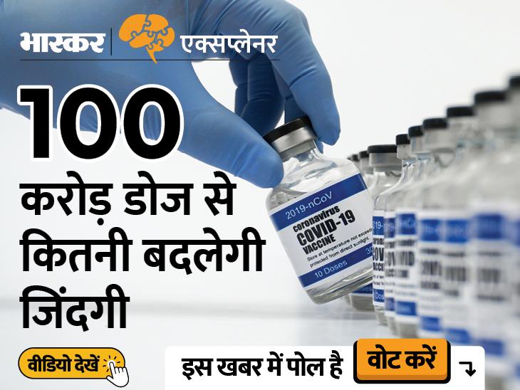 देश में 100 करोड़ से ज्यादा वैक्सीन डोज, क्या मास्क फ्री होगी हमारी दिवाली? जानें सब कुछ|एक्सप्लेनर,Explainer - Dainik Bhaskar