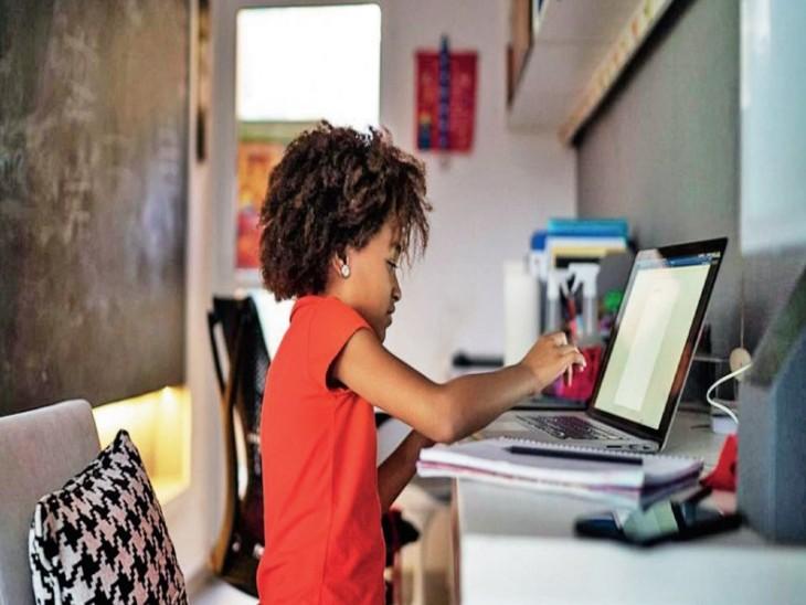 7 से 9 साल के एक तिहाई बच्चे सोशल मीडिया पर, 40% पेरेंट्स ने माना- वे निगरानी नहीं रख पाते हैं विदेश,International - Dainik Bhaskar