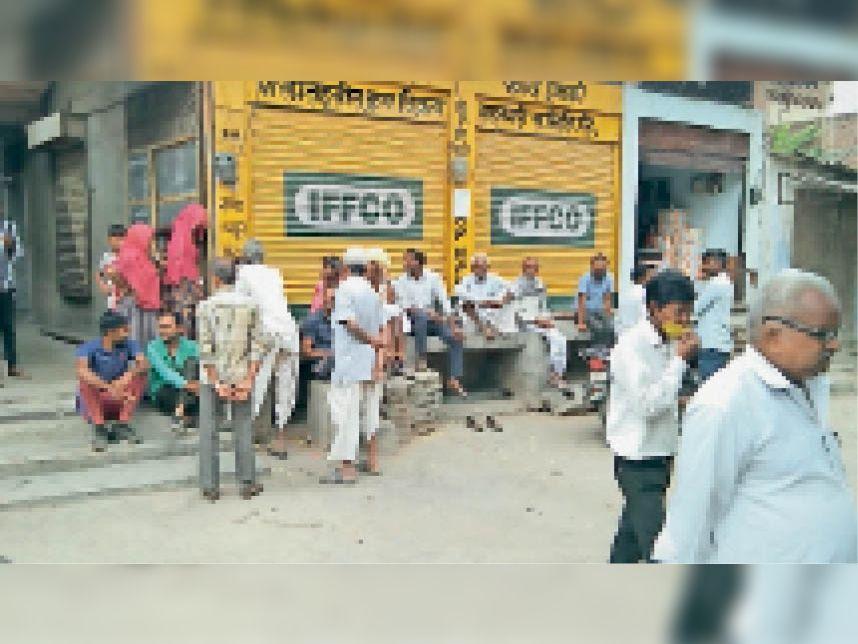 20 दिन से डीएपी की सप्लाई नहीं, एनपीके की मांग बढ़ी तो कट्टे पर बढ़ा दिए 285 रुपए|पाली,Pali - Dainik Bhaskar