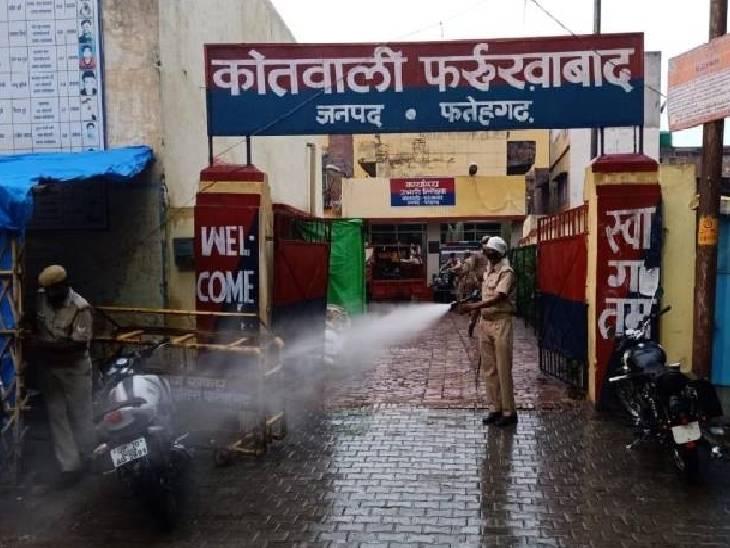 रोडवेज बस अड्डे पर अचानक करने लगा खून की उल्टियां, अस्पताल ले जाते वक्त तोड़ा दम फर्रुखाबाद,Farrukhabad - Dainik Bhaskar