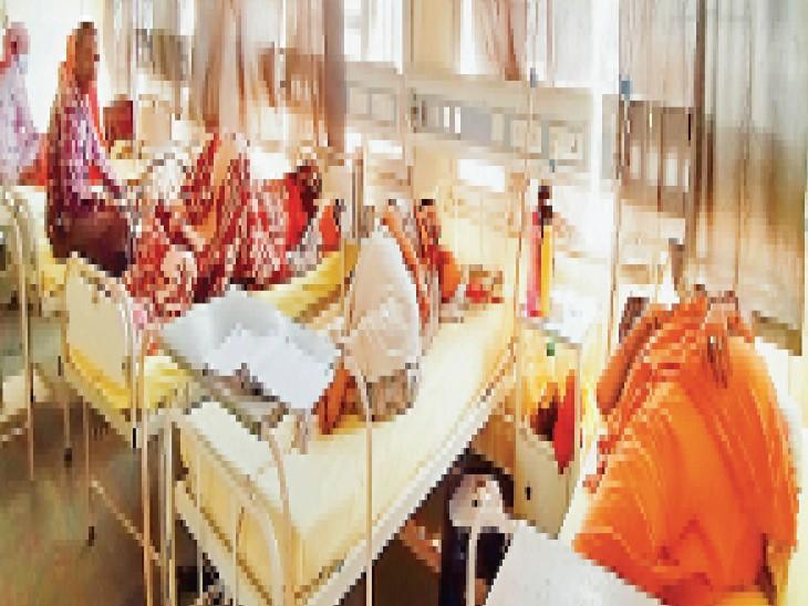 डेंगू के 7 नए मरीज मिले, इस साल 122 केस हुए, वार्ड में लगातार बढ़ रही मरीजों की तादाद, सिटी के डेंगू वार्ड के साथ एक कमरा और खाेला|अम्बाला,Ambala - Dainik Bhaskar