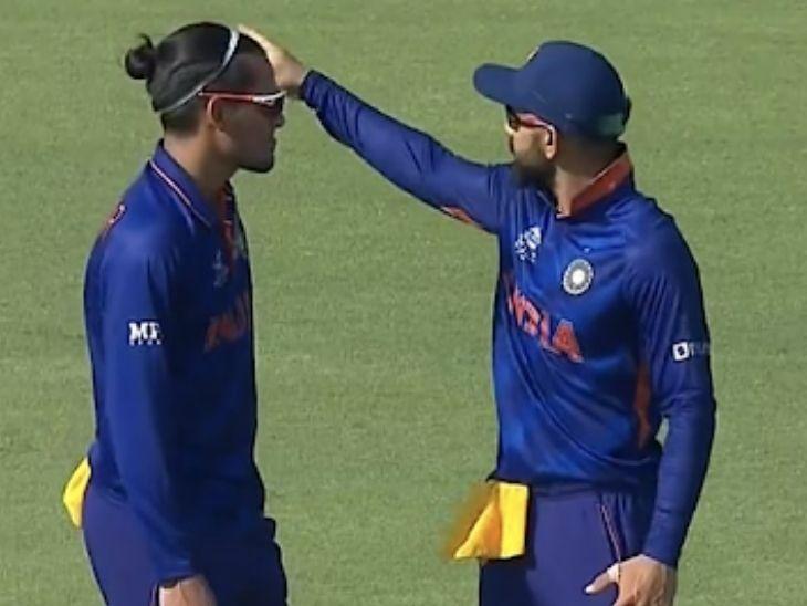 भारत के खिलाफ खतरनाक फॉर्म में दिख रहे थे मैक्सवेल, कोहली से टिप्स लेकर चाहर ने किया बोल्ड टी-20 वर्ल्ड कप,T20 World Cup - Dainik Bhaskar
