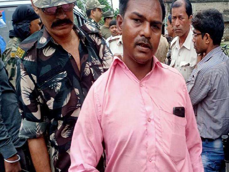 मोबाइल से वोटिंग करने की अफवाह पर हुई घटना, पुलिस ने एक संदिग्ध को हिरासत में लिया|मुजफ्फरपुर,Muzaffarpur - Dainik Bhaskar