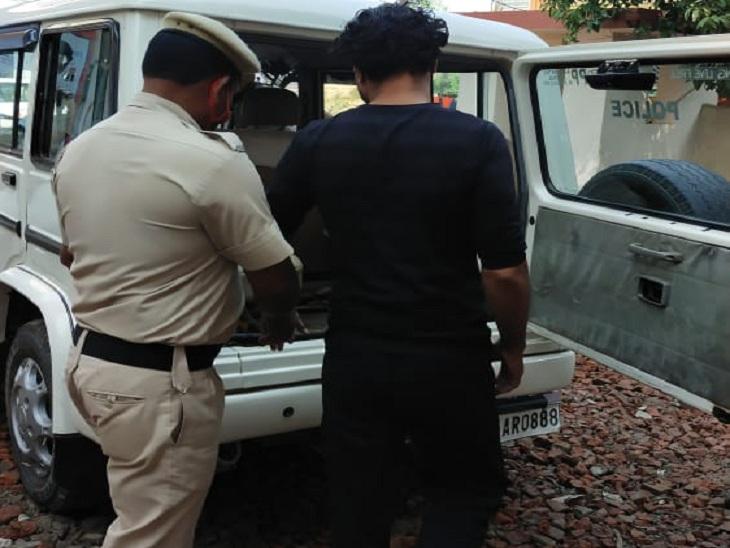 विधवा भाभी को मारी गोली; बोला- मैं उससे शादी करना चाहता था, लेकिन वो मानी नहीं, तो क्या करता|अम्बाला,Ambala - Dainik Bhaskar