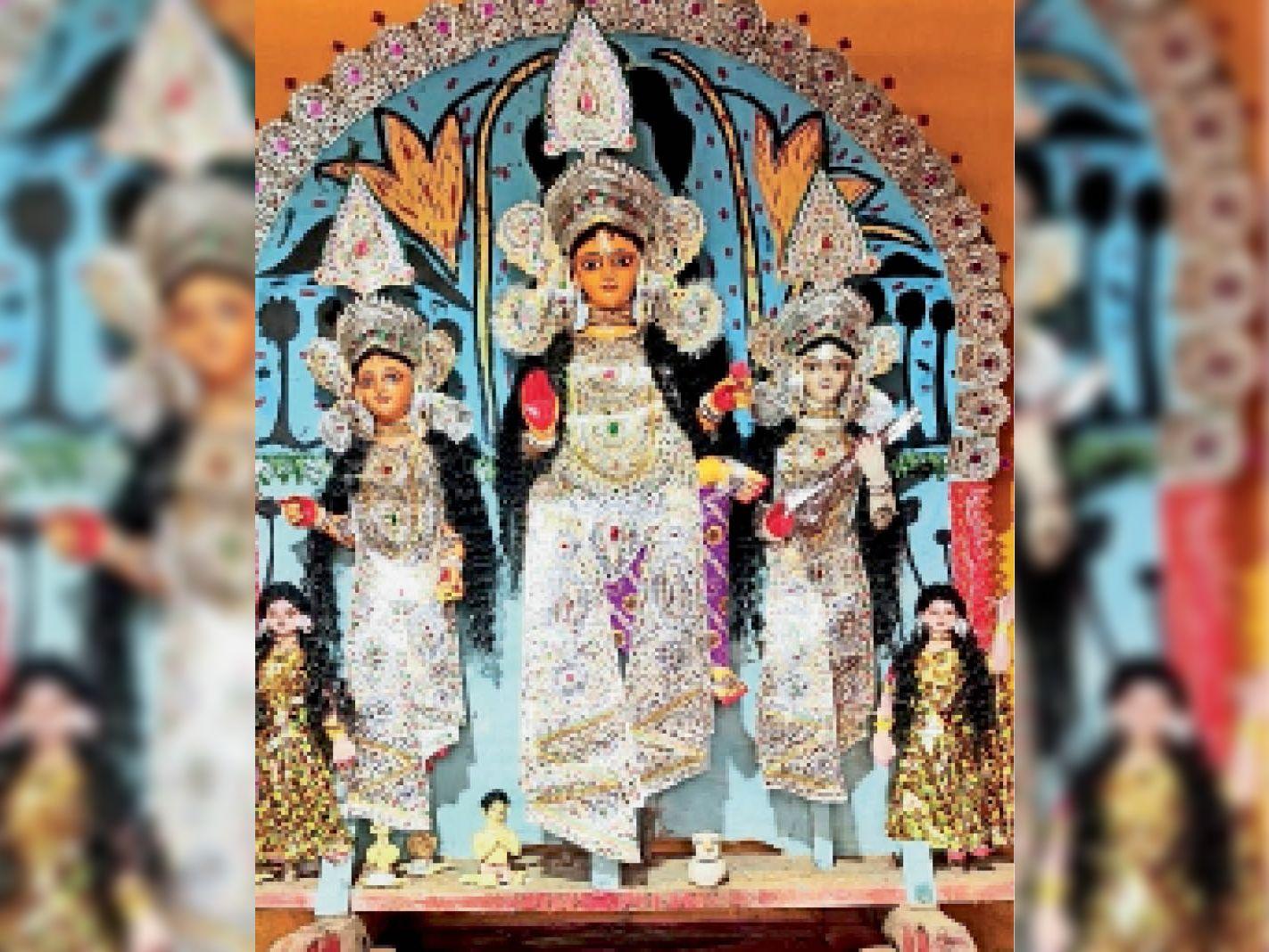 जिले में लक्खी पूजा की धूम, ग्रामीणों में उत्साह मुरलीपहाड़ी,Murlipahari - Dainik Bhaskar