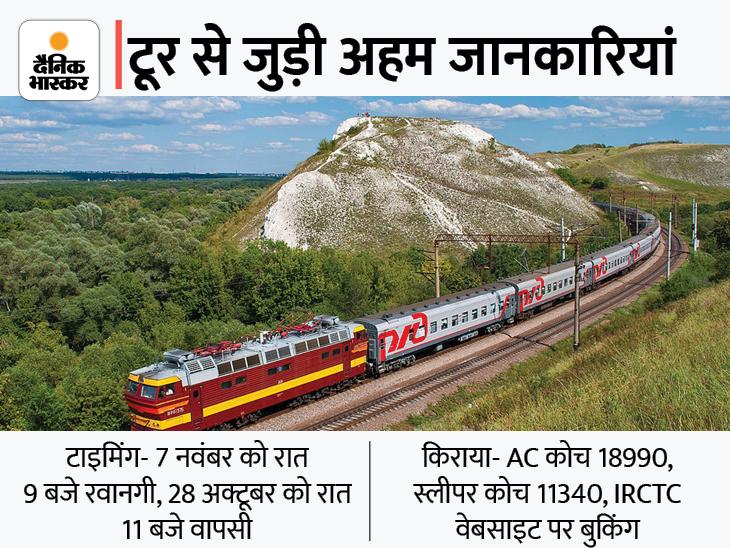 3 साल बाद पटरी पर लौटी IRCTC की ट्रेन; 7 नवंबर को पठानकोट से होगी रवाना, गोवा की सैर भी अमृतसर,Amritsar - Dainik Bhaskar