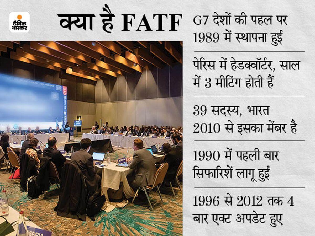 FATF की ग्रे लिस्ट में ही रहेगा पाकिस्तान, कश्मीर पर उसका साथ देने वाला तुर्की भी अब इस लिस्ट में शामिल विदेश,International - Dainik Bhaskar