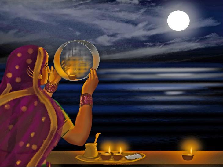 करवा चौथ पर बनेंगे 6 शुभ योग, आयुर्वेद के मुताबिक बीमारियों से भी बचाता है ये व्रत|धर्म,Dharm - Dainik Bhaskar