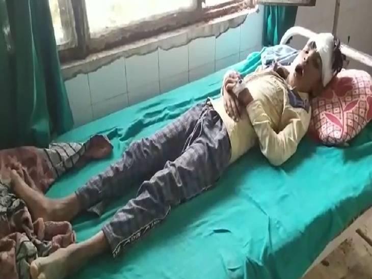 बच्चे को लगी थी चोट, इलाज की जगह डॉक्टर कर रही थी पूछताछ|सिद्धार्थनगर,Siddharthnagar - Dainik Bhaskar