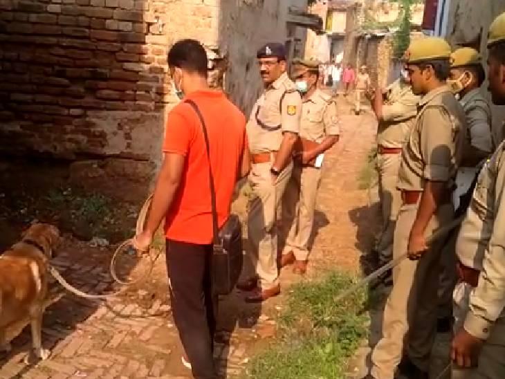 घर के बाहर सो रहा था अधेड़, गोली मारकर की गई हत्या; बिस्तर के पास पड़ा मिला गिलास और नमकीन बांदा,Banda - Dainik Bhaskar