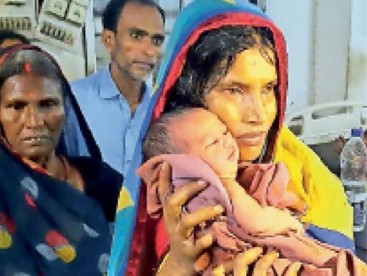 मेडिकल कॉलेज अस्पताल से चोरी हुआ बच्चा राजगंज से बरामद, मां-बेटी गिरफ्तार|धनबाद,Dhanbad - Dainik Bhaskar
