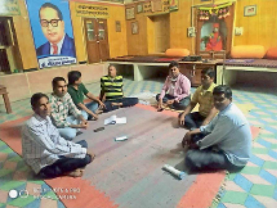 पटवारी परीक्षार्थियों के लिए आवास व भोजन व्यवस्था निशुल्क की जाएगी|नागौर,Nagaur - Dainik Bhaskar