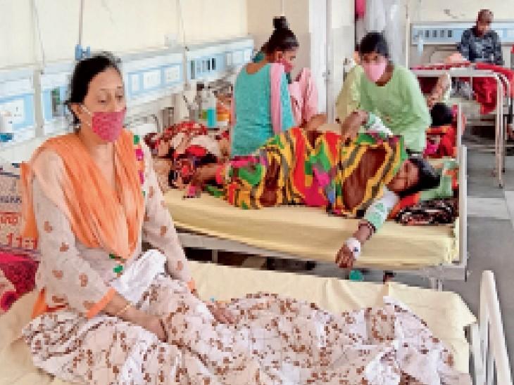शहजादपुर में डेंगू से 1 माैत, विभाग ने नहीं की पुष्टि, सरकारी रिकॉर्ड में 122 केस, हकीकत- निजी अस्पताल मरीजों से भरे पड़े|अम्बाला,Ambala - Dainik Bhaskar