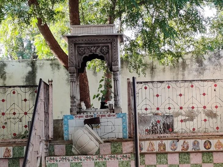 बीयर के नशे में वारदात को दिया था अंजाम, बर्तन भी चुराए, 8 घंटे में हुआ घटना का खुलासा|नागौर,Nagaur - Dainik Bhaskar