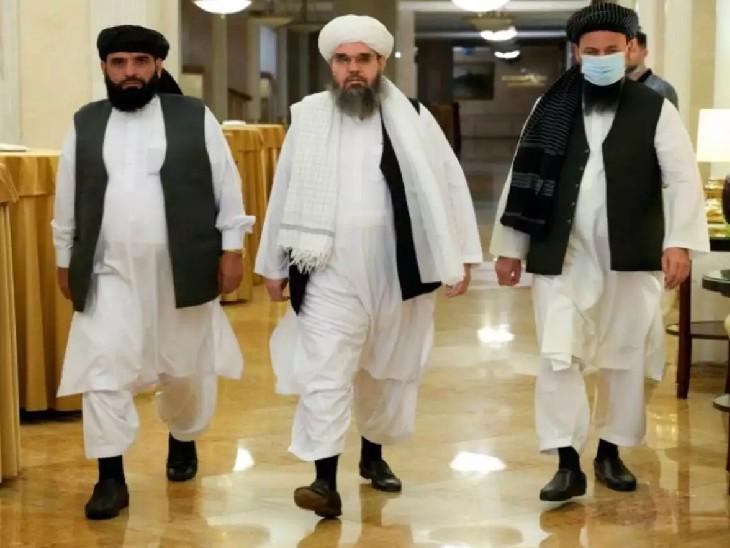 मॉस्को में तालिबान के दल से मिले इंडियन डिप्लोमैट, कहा-मानवीय आधार पर अफगानिस्तान को मदद दे सकता है भारत विदेश,International - Dainik Bhaskar