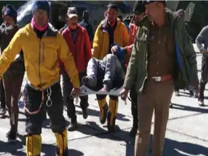 उत्तराखंड से किन्नौर के लिए निकला दल भटका रास्ता; 2 रेस्क्यू, 4 लोगों की तलाश जारी|देश,National - Dainik Bhaskar