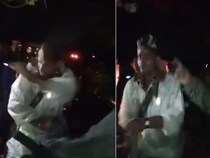 रात तक जारी मतदान में लगी भीड़ तो पुलिस ने खदेड़ा, भगदड़ में मौत के बाद हंगामा बिहार पंचायत चुनाव,Bihar Panchayat Election - Dainik Bhaskar