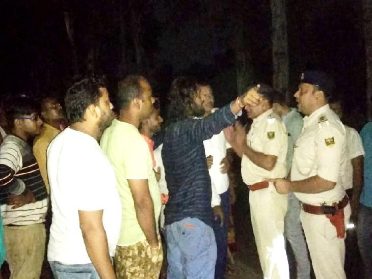 चुनाव प्रचार के बाद भाई को लाने जा रहा था, तभी हुआ हादसा; विरोध में बवाल बिहार पंचायत चुनाव,Bihar Panchayat Election - Dainik Bhaskar