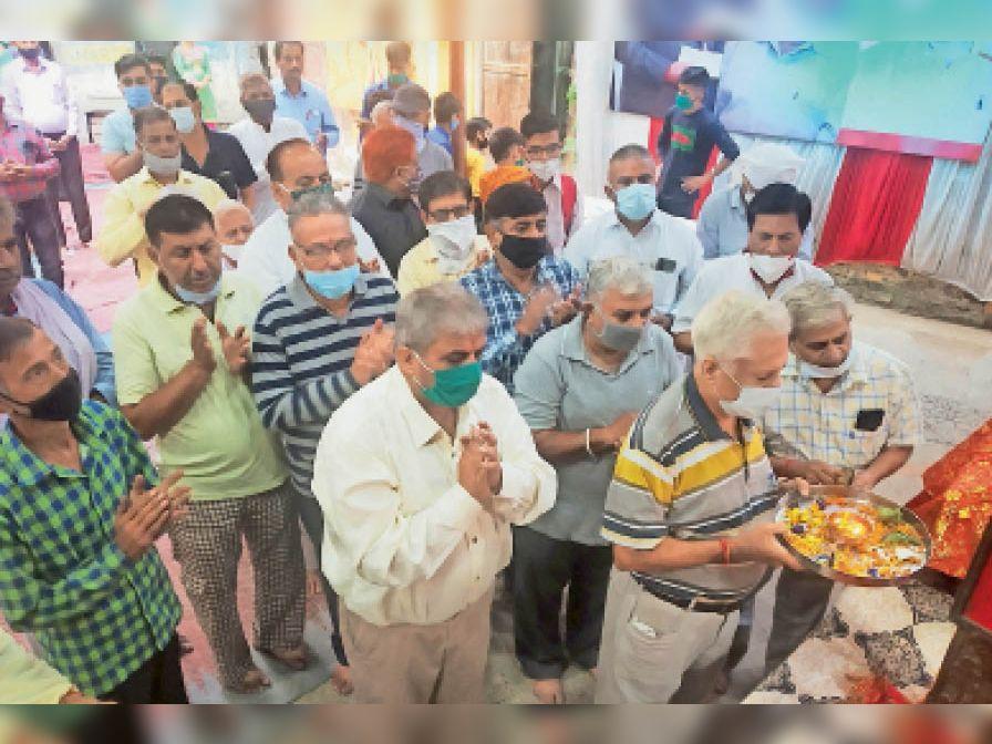 'कार्तिक मास में व्रत रखने से जीव आवागमन के चक्र से हो जाता है मुक्त' करनाल,Karnal - Dainik Bhaskar