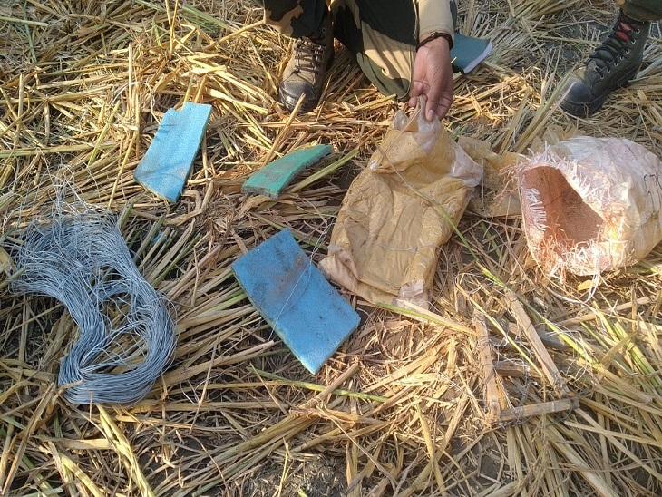 तरनतारन के खालड़ा सेक्टर में फेंसिंग पार से BSF ने जब्त की 3.2 किलो मात्रा, बोरे में डालकर छिपाई थी जालंधर,Jalandhar - Dainik Bhaskar