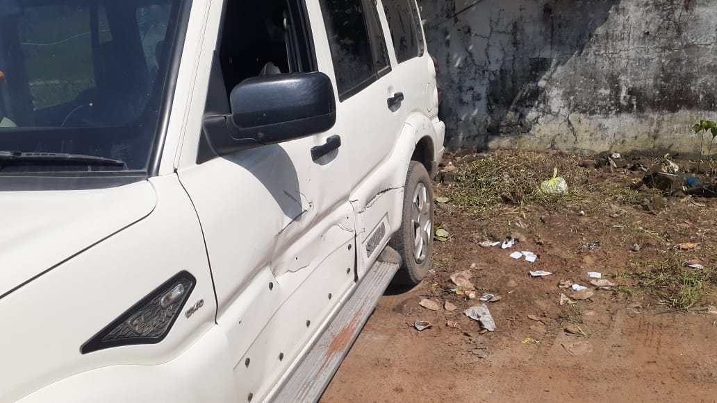 RKTC कंपनी के फ्लाइंग स्क्वार्ड टीम पर हमला, दोनों पक्षों में चले डंडे, काउंटर केस|होशंगाबाद,Hoshangabad - Dainik Bhaskar