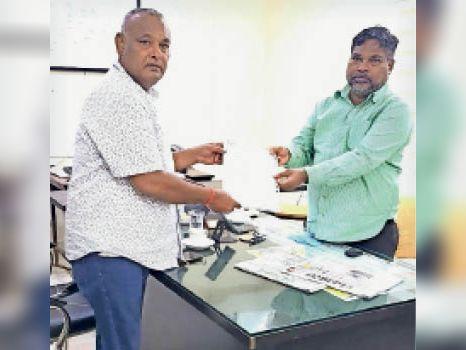 करवा चौथ पर बिजली मेंटनेंस न करने कांग्रेस जिलाध्यक्ष विजय मिले ईडी से बिलासपुर,Bilaspur - Dainik Bhaskar