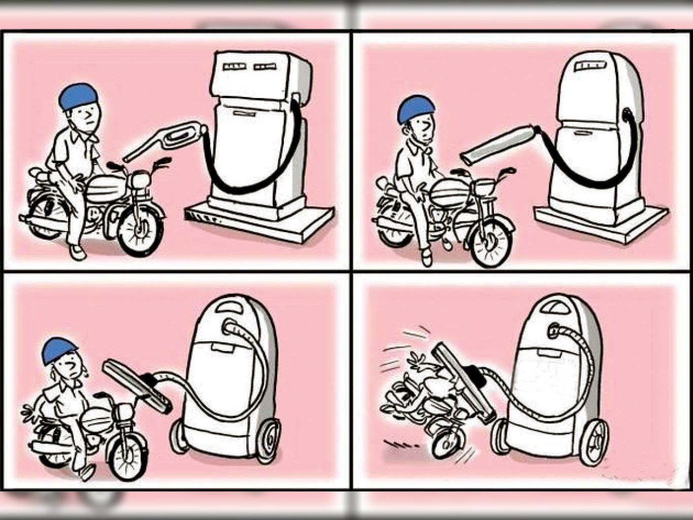पेट्रोल अब 114.30 रुपए लीटर हुआ, डीजल का रेट 105.43 रुपये|सीकर,Sikar - Dainik Bhaskar