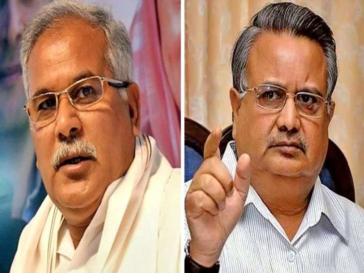 अब CM बघेल ने कहा- रमन सिंह कलेक्टरों से कैसे कलेक्ट कराते थे, भूल गए हों तो घरवालों से पूछ लें|रायपुर,Raipur - Dainik Bhaskar