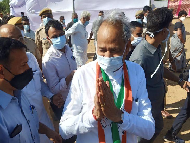 प्रशासन गांवों के संग शिविर की CM ने की समीक्षा, कहा- हम जनता के अधिकारों के ट्रस्टी|नागौर,Nagaur - Dainik Bhaskar