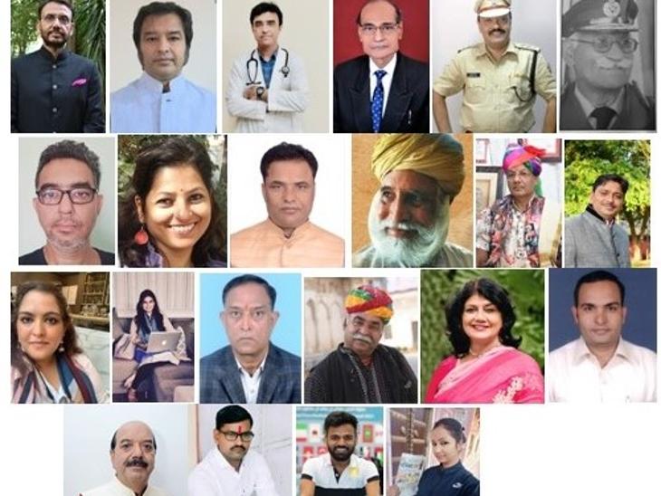 सिटी पैलेस में 24 श्रेणियों में राज्य की हस्तियों को किया गया सम्मान, बहादुरी के लिए राजीव सिंह चंपावत पुरस्कृत|जयपुर,Jaipur - Dainik Bhaskar