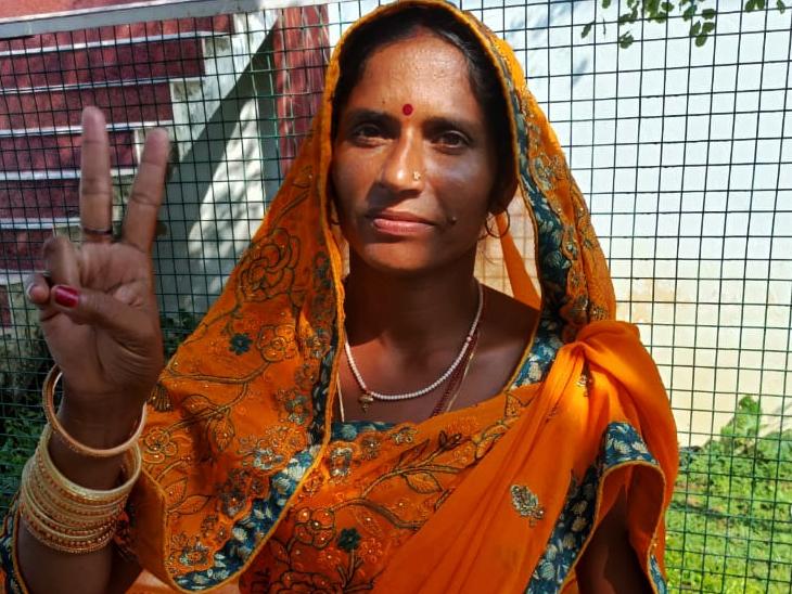 निकटतम प्रतिद्वंद्वी को 8,117 वोट से हराया; पति को डेढ़ साल से ढूंढ रही गया पुलिस बिहार पंचायत चुनाव,Bihar Panchayat Election - Dainik Bhaskar